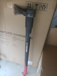 Used Like New Red And Black Truper Axe Dublin, 43016