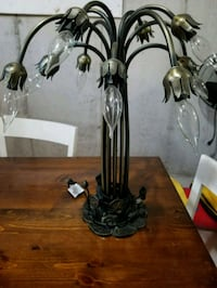 two black metal candle holders Milton, L9T 7K3