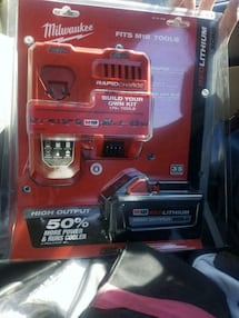 Milwakee m18 battery with charger