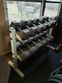 Parabody bench and weights 38 km