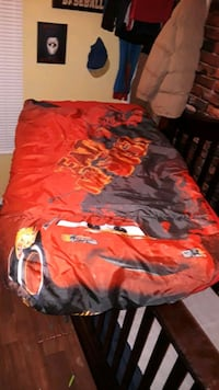 Toddler bed fitted sleeping bag.  Albuquerque