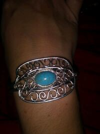 Silver and Turquoise cuff bracelet Piedmont, 29673