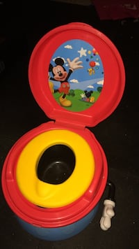 Mickey Mouse Magical Flush Potty