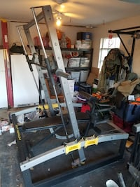 GOLDS GYM POWER AXIS SMITH MACHINE BENCH