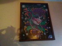 Mardigras puzzle in frame