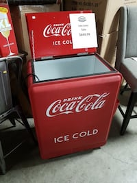 Coca-Cola commercial deep freezer Mississauga, L4X 1R1