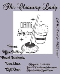 The Cleaning Lady**** Columbus, 43232
