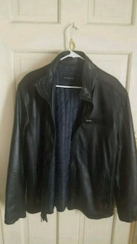 Marc New York Soft Leather Jacket with stand colla Washington, 20020