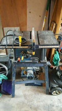 black and gray table saw Brantford, N3P 1E1