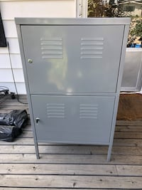 IKEA Four Shelf Metal Cabinet Edmonton, T6J 1H9