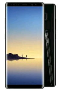 black Samsung Galaxy Note 8 for sale or trade Brantford, N3T 1L6