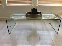 Beautiful 1/2 inch Thick Glass Table  Sterling, 20166