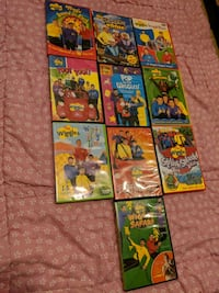 The wiggles dvd movie lot  Surrey, V3W 5S2