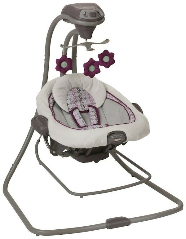Used Graco S Duetconnect Lx Swing And Bouncer For Sale In