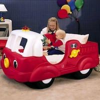 toddler's red and white ride on toy 371 mi