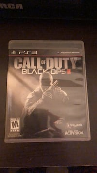 PS3 Call of Duty Black Ops 2 game case Winnipeg, R2V 4B7