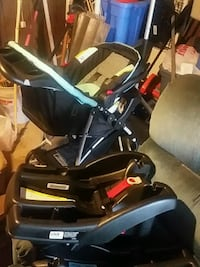 STROLLER + 2 quick connect base +seat Westland, 48186