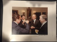 Original White House Photo Presidents Toasting Together by Michael Evans (President Reagan's Photographer) Pittsburgh, 15203