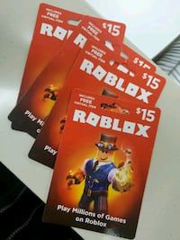 Robux cards Calgary