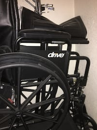 Wheel chair like new just dusty asking 100 or best offer  Stockton, 95210