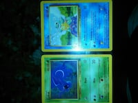 Squirtel and Zubat Pokemon trading cards Belton, 64012