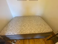 Full size mattress and frame