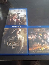 Hobbit blue-ray collection  Prince George, V2M 5L3