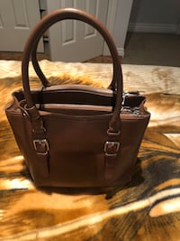 Brown Rudsak leather 2-way handbag 552 km