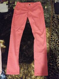 Maurices sz XS-R skinny pink
