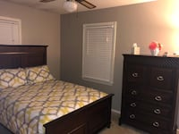Full Size Bed and Dresser - $400 Burke