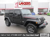 2017 Jeep Wrangler Unlimited Rubicon Rogers, 72758