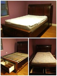 queen size bed with mattress Eustis, 32726