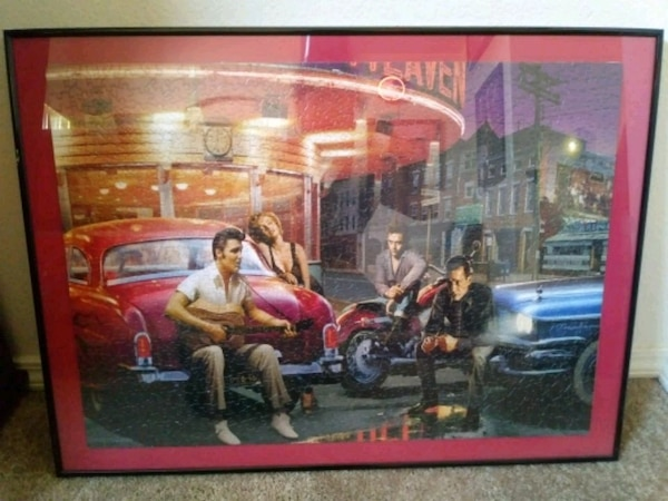 Used Home Decor Puzzle Marlene Monroe James Dean And El For Sale In Albuquerque