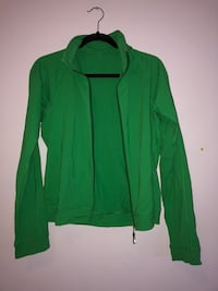 green zip-up jacket Calgary, T3G 5A4