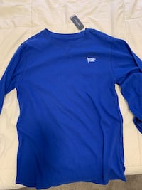 Blue nautica long-sleeve T-shirt