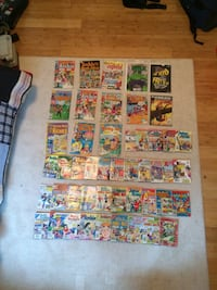 comic book lot Thunder Bay, P7J