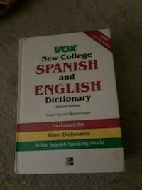 Spanish and English dictionary  Annandale, 22003