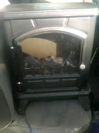 Fireplace electric heater