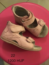 Sandal for girls, size 22, used 7349 km