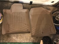 two brown wooden car mats Plainview, 11803
