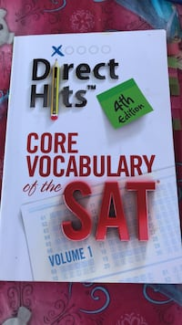 Direct Hits Core Vocabulary of Sat(4th edition) Los Angeles, 90031