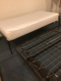 2 Stackable twin bed + one mattress in ver good condition  Ewing, 08628