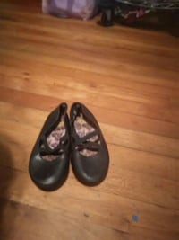 pair of black leather flats Boiling Springs, 29316