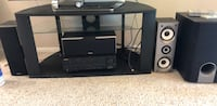 Onkyo receiver and 3 speaker and Sub Thornton, 80241
