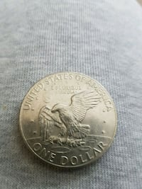 round silver-colored coin Whitby, L1R 3H4