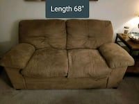 *Offers accepted* Brown suede 2-seat sofa  Glen Burnie, 21061