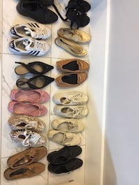 six pairs of assorted shoes Vancouver, V5P 2B9
