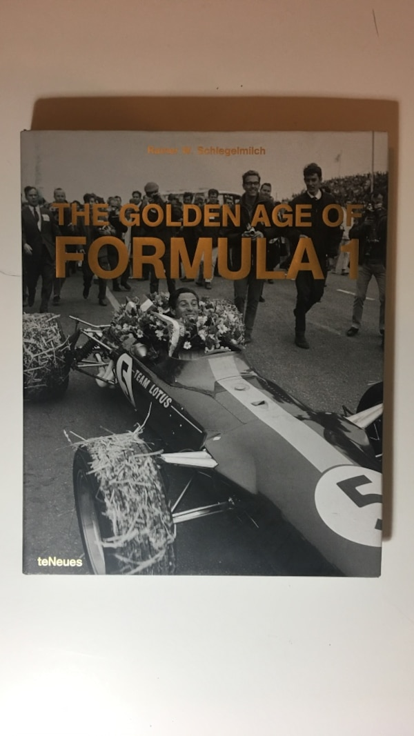New Formula 1 book The Golden Ages
