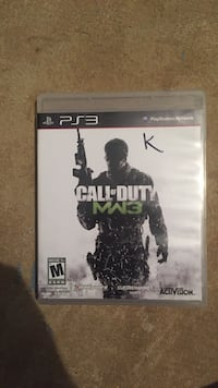 Sony PS3 Call of Duty game