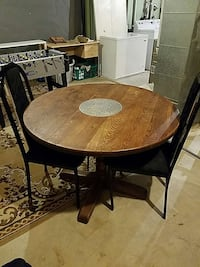 antique table with two chair Rockville